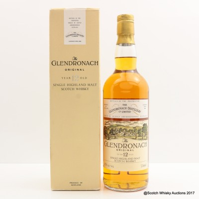 GlenDronach 12 Year Old Old Style 75cl