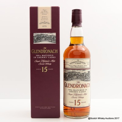 GlenDronach 15 Year Old Old Style