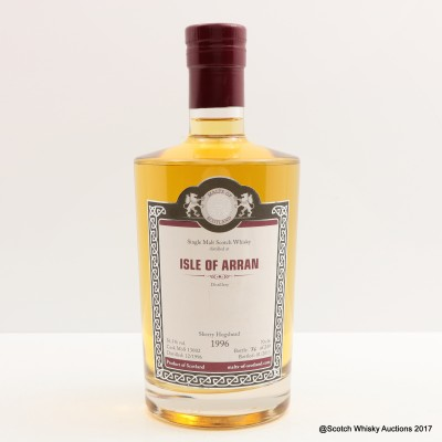 Arran 1996 Malts Of Scotland