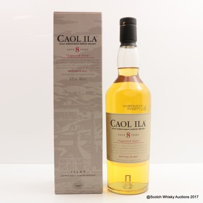 Caol Ila 8 Year Old Unpeated 2007 Release