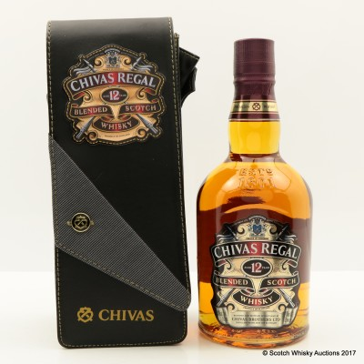 Chivas Regal 12 Year Old in Leather Case