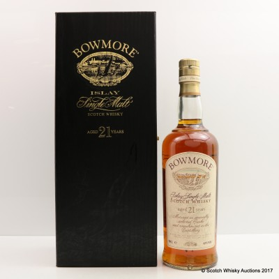 Bowmore 21 Year Old Old Style
