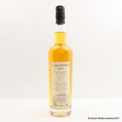 Caperdonich 1980 24 Year Old Getränke-Weiser