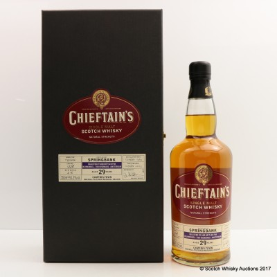 Springbank 1974 29 Year Old Chieftain's