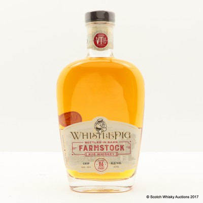 Whistlepig Farmstock Crop No.001 75cl