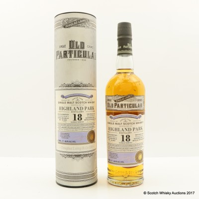 Highland Park 1996 18 Year Old Old Particular