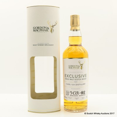 Caol Ila 2005 Gordon & Macphail Exclusively for Whisky Kentei