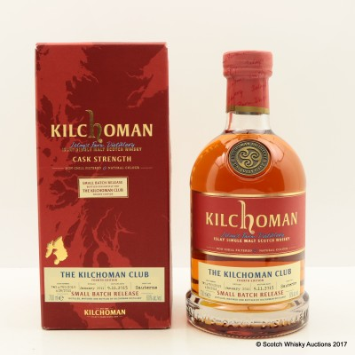 Kilchoman 2011 Small Batch Release For The Kilchoman Club 4th Edition