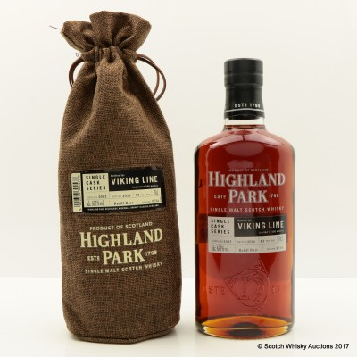 Highland Park 2003 13 Year Old Viking Line Single Cask #5734