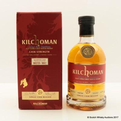 Kilchoman 2010 Quarter Cask Exclusive For Master Of Malt