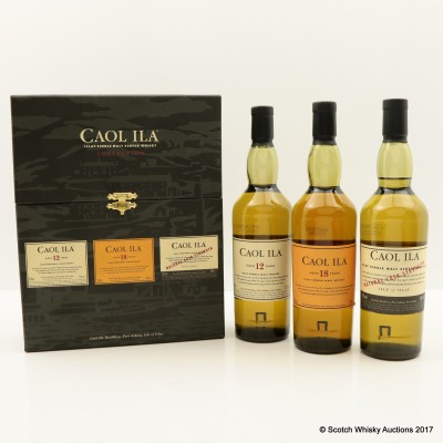 Caol Ila Collection 3 X 20cl