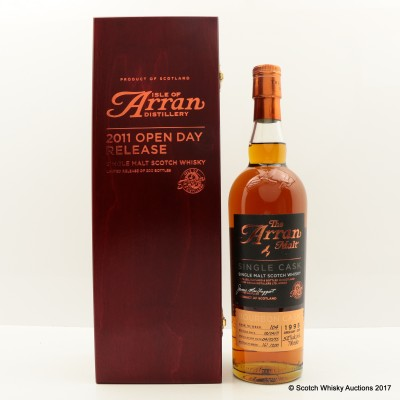 Arran 1995 2011 Open Day Single Cask Release