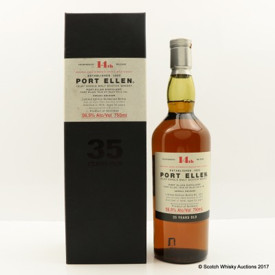 Port Ellen 14th Annual Release 1978 35 Year Old 75cl