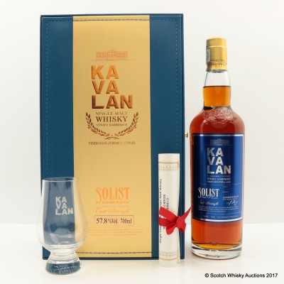 Kavalan Solist Vinho Barrique (with Glass)