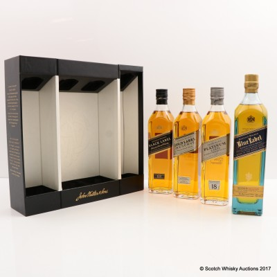 Johnnie Walker Collection 4 x 20cl