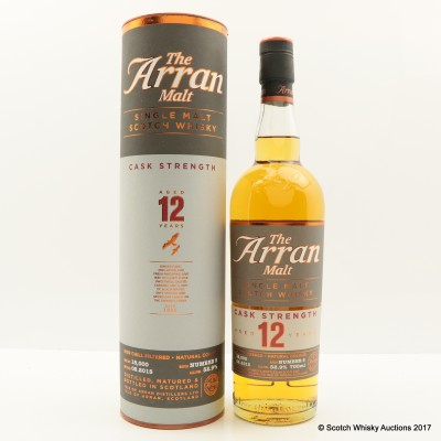 Arran 12 Year Old Cask Strength Batch #5
