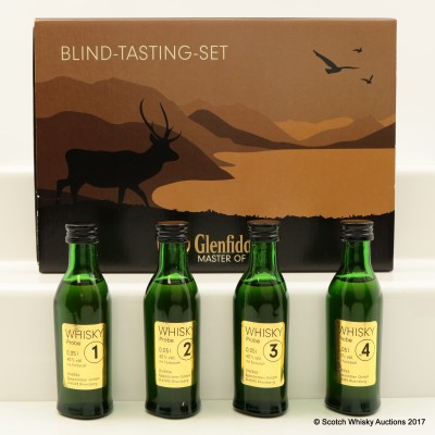 Glenfiddich Master Of Malt Blind Tasting Set