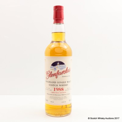 Glenfarclas 1988 Christmas Edition