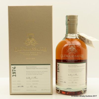 Glenglassaugh 1974 41 Year Old Rare Cask Release