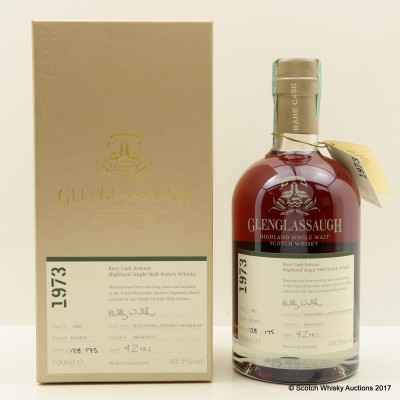 Glenglassaugh 1973 42 Year Old Rare Cask Release