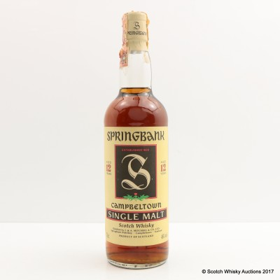 Springbank 12 Year Old Old Style