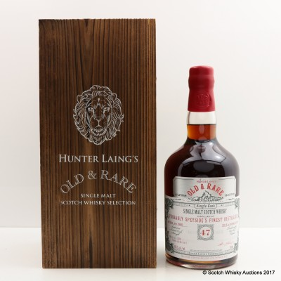 Probably Speyside's Finest Distillery 1966 47 Year Old Old & Rare
