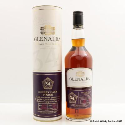 Glenalba 34 Year Old Sherry Cask Finish