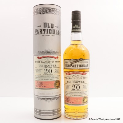 Inchgower 1995 20 Year Old Old Particular