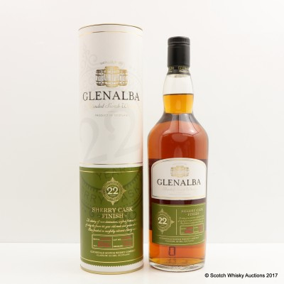 Glenalba 22 Year Old Sherry Cask Finish