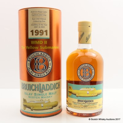 Bruichladdich WMD II Yellow Submarine 1991 14 Year Old