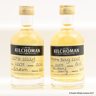 Kilchoman Distillery Sample Minis 2 x 5cl