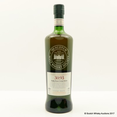 SMWS 30.93 Glenrothes 1997 19 Year Old