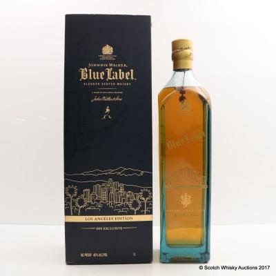Johnnie Walker Blue Label Los Angeles Edition 1L