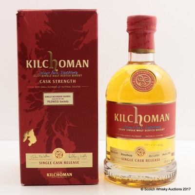 Kilchoman 2010 Single Cask Selected By Plowed Society 75cl