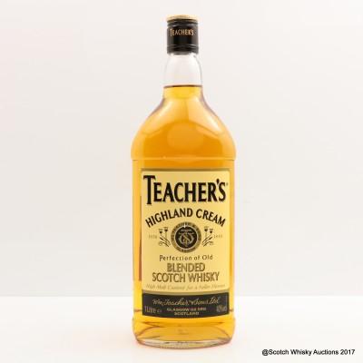 Teachers Highland Cream Blend 1L