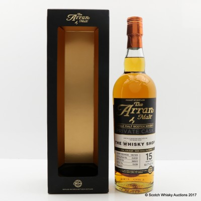 Arran 1997 15 Year Old Private Cask for The Whisky Shop