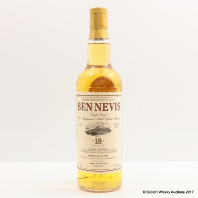 Ben Nevis 1995 18 Year Old Private Bottling