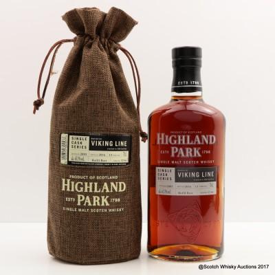 Highland Park 2003 13 Year Old Viking Line Single Cask #5734