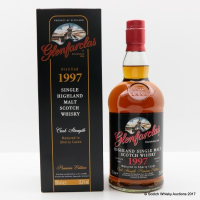 Glenfarclas 1997 Premium Edition Cask Strength