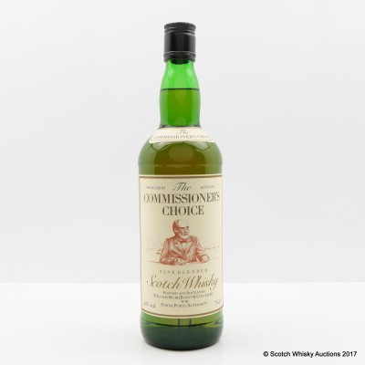 The Commissioner's Choice Fine Blend 75cl