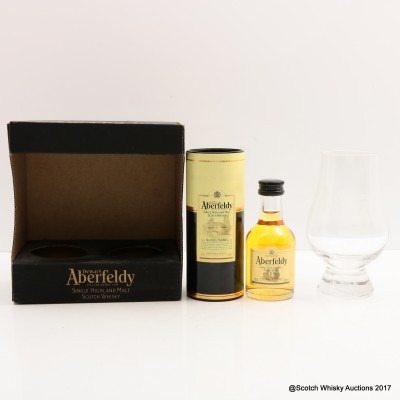 Aberfeldy 12 Year Old Mini & Glass Set 5cl