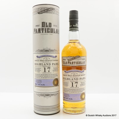 Highland Park 1996 17 Year Old Old Particular