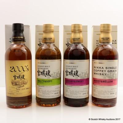 Nikka Miyagikyo Distillery Exclusive Set 4 x 50cl