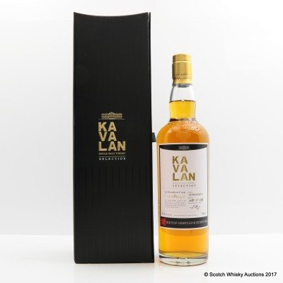 Kavalan Selection Ex-Bourbon Cask For The Finest Notes