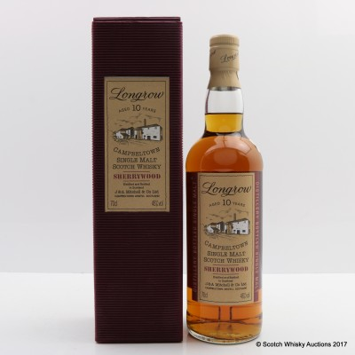 Longrow 10 Year Old Sherrywood