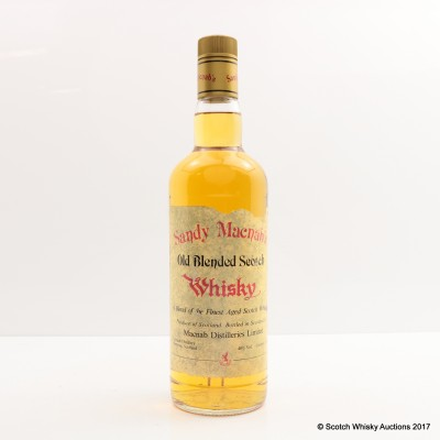 Sandy MacNab's Old Blended Scotch Whisky 75cl