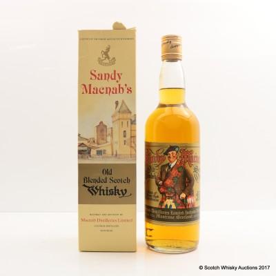 Sandy McNab Old Blended Scotch Whisky 75cl