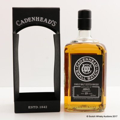 Arran 1997 19 Year Old Cadenhead's