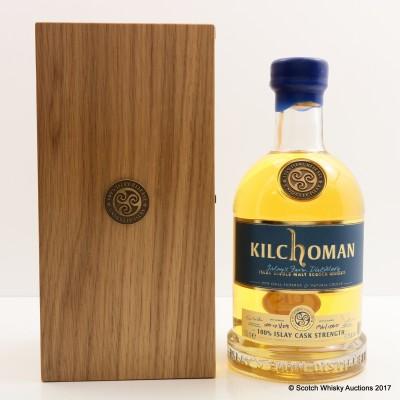 Kilchoman 100% Islay Inaugural Cask Strength Release