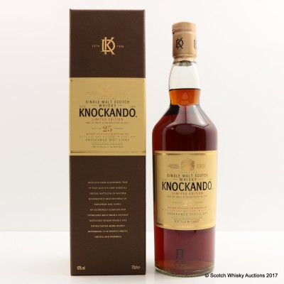 Knockando 25 Year Old Limited Edition